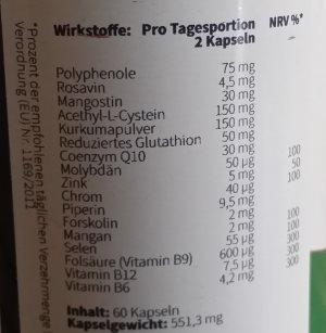 metabolic aktiv pro inhaltsstoffe